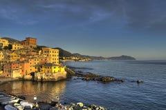 Genova Boccadasse Fotografia Stock Libera da Diritti