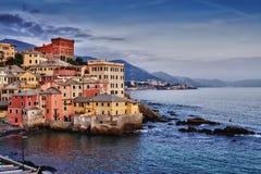 Genova Boccadasse Royaltyfri Foto
