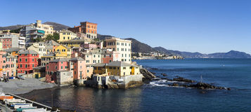 Genova Boccadasse Royalty Free Stock Images