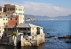 Genova coast Royalty Free Stock Image