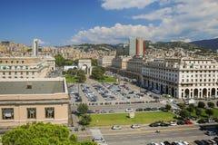 Genova del centro in Italia immagine stock
