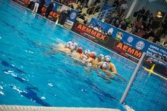 GENOVA, FEBRUARY, 27:     Team Brescia in   Brescia - BPM Sport Royalty Free Stock Photography