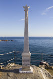Genova - Garibaldi Monument Royalty Free Stock Photography