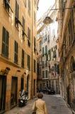 Genova gata Royaltyfri Foto