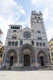 Genova (Italia), cattedrale fotografia stock libera da diritti