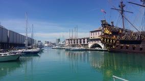 Genova-Italien arkivfoton
