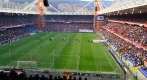 Genova-Juventus fotografia stock
