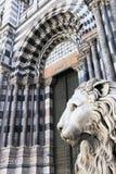 Genova Katedra Obrazy Stock