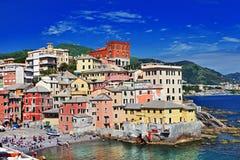 Genova Liguria Arkivfoton