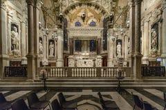 Genova, Liguria, Italia, Europa, cattedrale St Lawrence Fotografia Stock