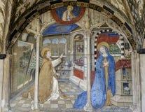Genova, Liguria, Italia, Europa, chiesa di St Mary del castello immagine stock