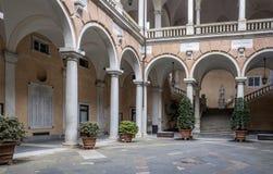 Genova, Liguria, Italia, Europa, tursi di doria del palazzo immagini stock libere da diritti