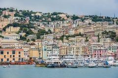 Genova, Oporto Antico immagini stock libere da diritti