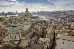Genova view Royalty Free Stock Photos