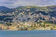 Genova waterfront, Italy Stock Photo