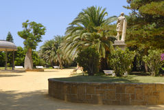 Genoves park Royalty Free Stock Photos
