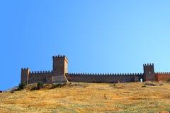 Genovese крепость Стоковые Изображения RF