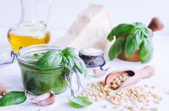 genovese соус pesto Стоковое Изображение RF