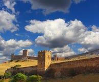 Genovese fästning Arkivbilder