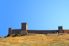 Genovese Fortress Royalty Free Stock Images