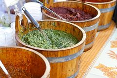 Genovese Pesto Arkivfoto