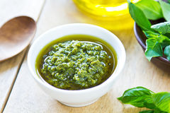 Genovese pesto Stock Photography