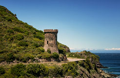 Genovese Tower Royalty Free Stock Photography