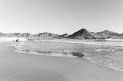 Genoveses beach in Cabo de Gata Royalty Free Stock Image