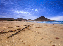 Genoveses beach and sea Royalty Free Stock Photography