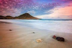 Genoveses beach and sea Royalty Free Stock Photos