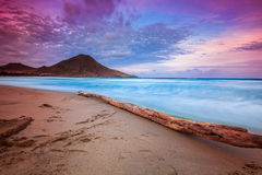 Genoveses beach and sea Stock Photography