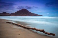 Genoveses beach and sea Royalty Free Stock Photo