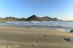 Genoveses Hiszpania i plaża Fotografia Stock