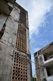 Genozid-Museum Tuol Sleng in Phnom Penh, Kambodscha stockfotos