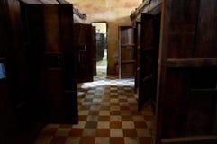 Genozid-Museumsansicht Tuol Sleng, Kambodscha stockbild