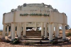 Genoziddenkmal bei Kibimba lizenzfreies stockfoto