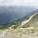 Genre à partir de dessus de montagne. Image libre de droits