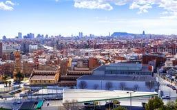 Genre de Badalona Barcelone Image libre de droits