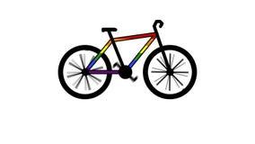Genre de vélo pour le processus illustration de vecteur
