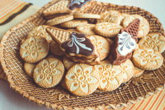 Genre différent de biscuits Photos libres de droits