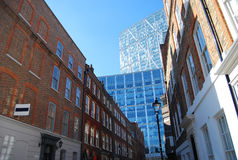Genre sur des affaires le centre à Londres Photographie stock libre de droits