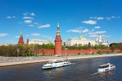 Genre vers Moscou Kremlin photos libres de droits