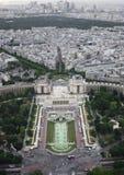 Genre vers Paris de taille Photos libres de droits