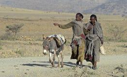 gens éthiopiens Image libre de droits