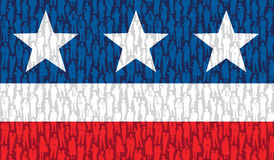 Gens américains Image libre de droits