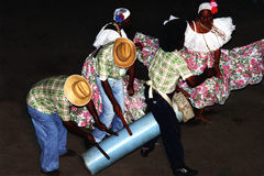 gens brésiliens de danse Photographie stock