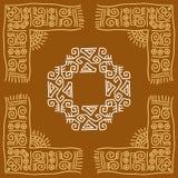 Gens, conception tribale illustration de vecteur