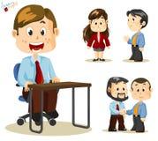Gens d'affaires illustration de vecteur