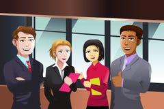 Gens d'affaires Image libre de droits