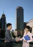 Gens d'affaires asiatique Photographie stock